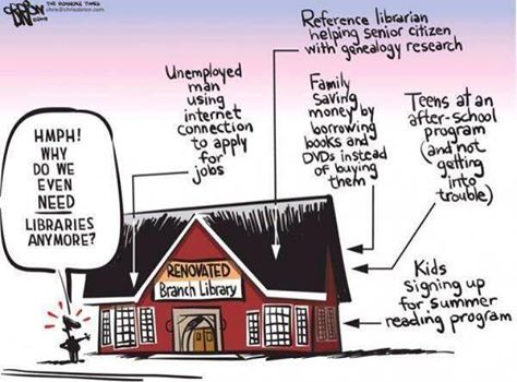 Why libraries